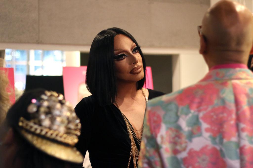 """Raven attends """"RuPaul's Drag Race"""" FYC Costume Exhibit"""
