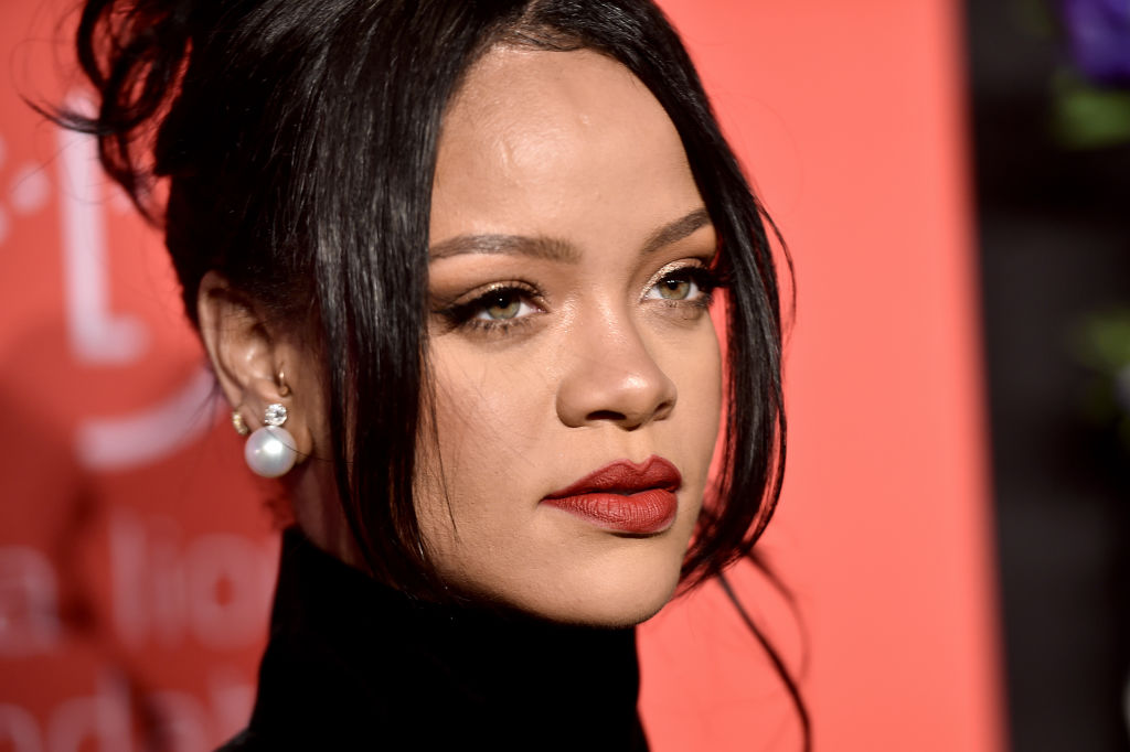 Rihanna on the red carpet at an event in September 2019