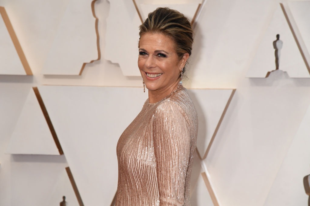 Rita Wilson shares her cellphone number with fans class=