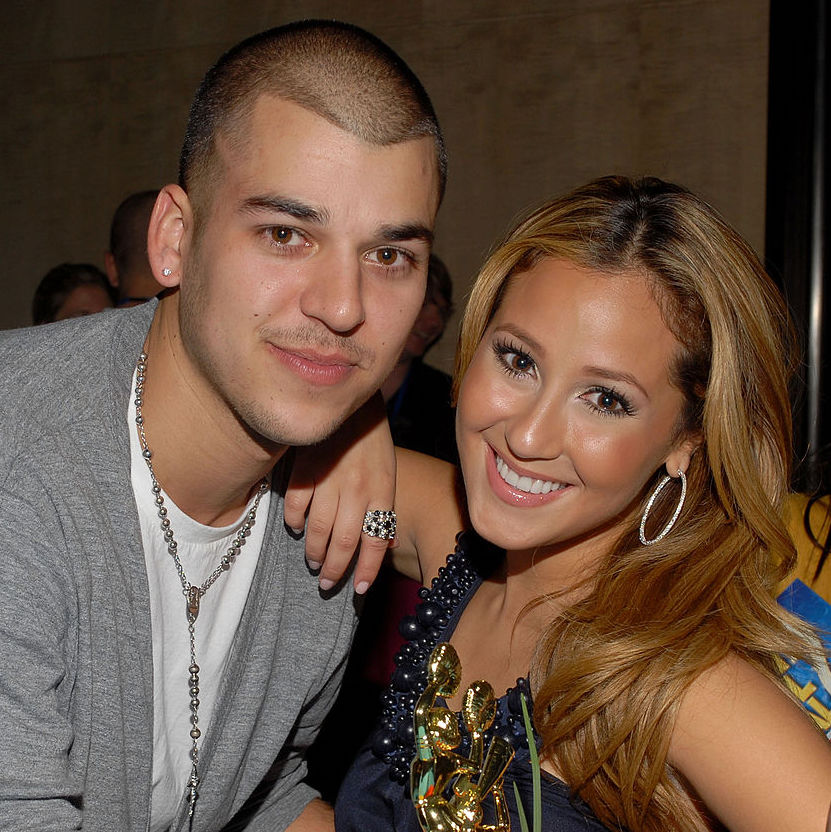 Rob Kardashian and Adrienne Bailon