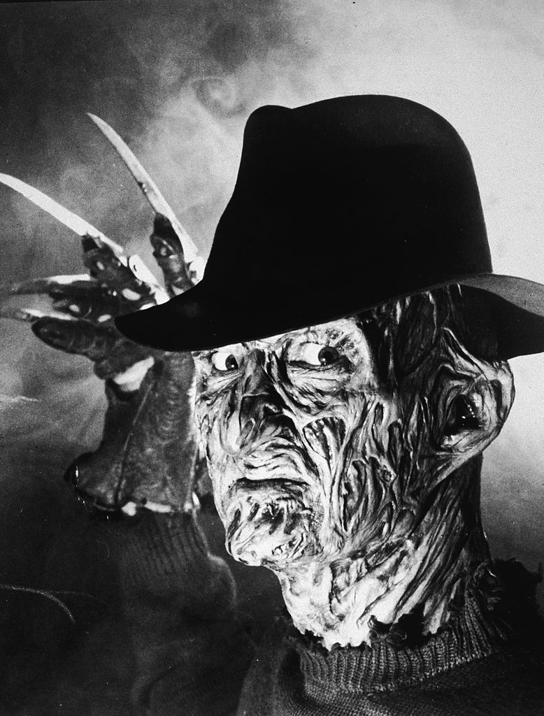 Robert Englund as Freddy Krueger of A Nightmare on Elm Street