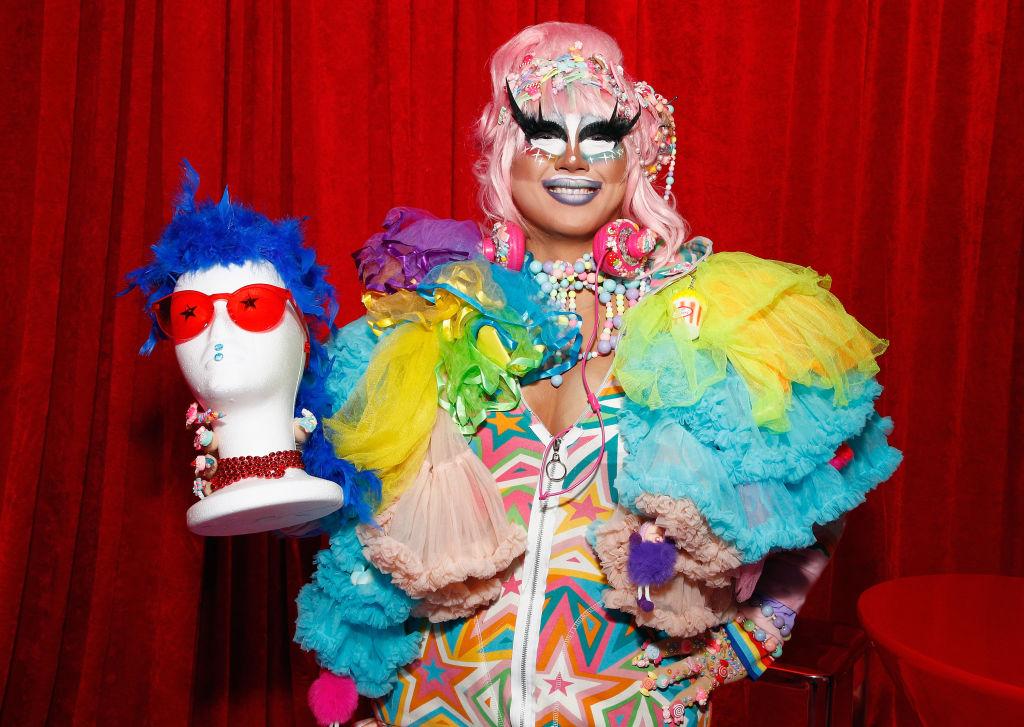 Rock M. Sakura attends 'RuPaul's Drag Race Season 12' meet the queens