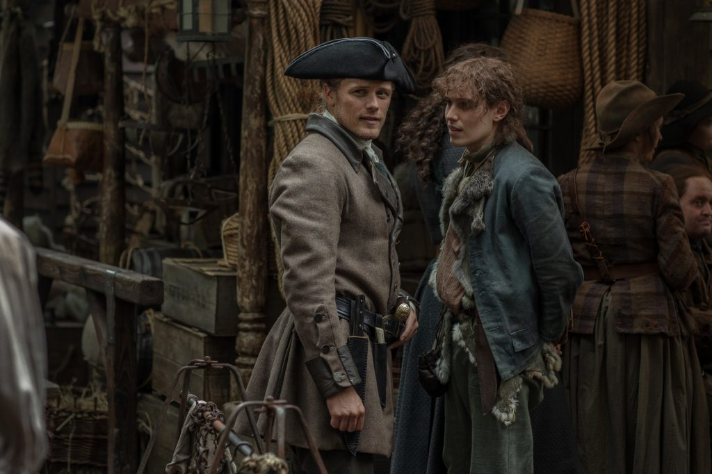 Sam Heughan, Paul Gorman - Outlander