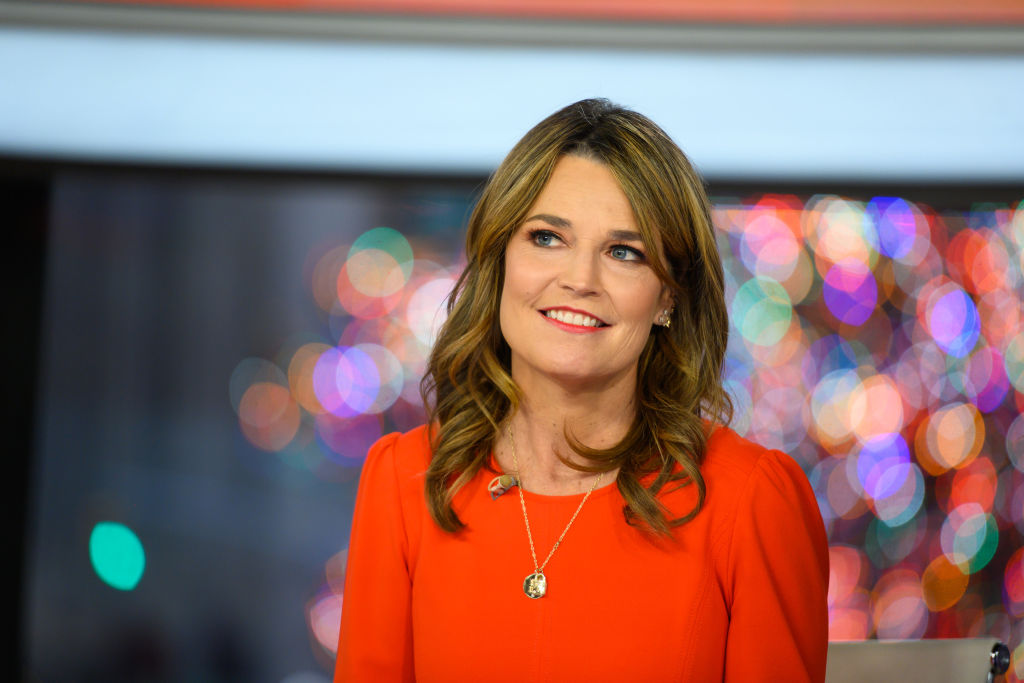 "Savannah Guthrie of the ""Today Show"""