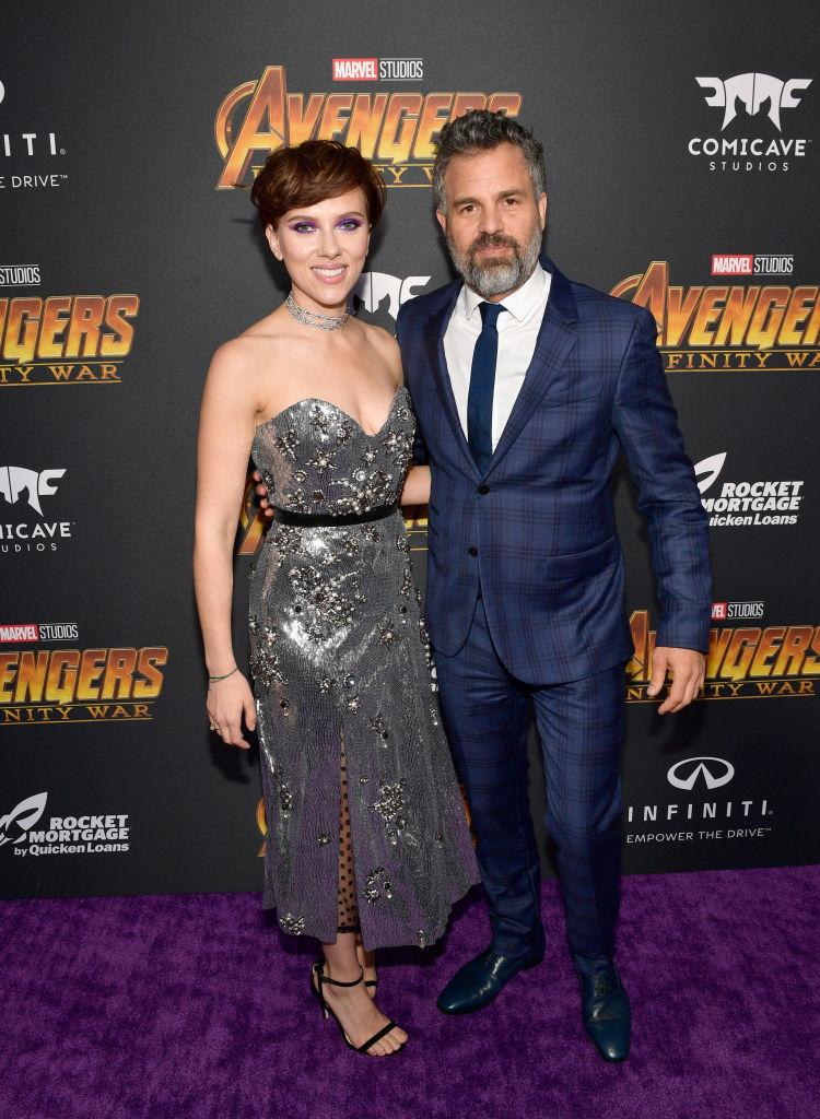 Scarlett Johansson and Mark Ruffalo MCU