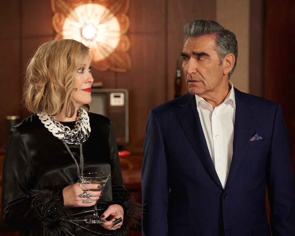 Schitt's Creek: Moira and Johnny