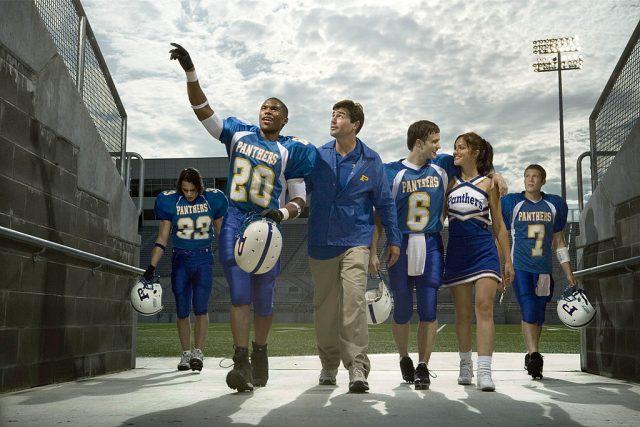 Season 1 cast of 'Friday Night Lights'