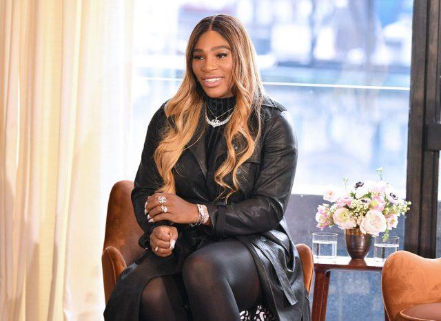 Serena Williams at the S By Serena presentation at New York Fashion Week on Feb. 12, 2020