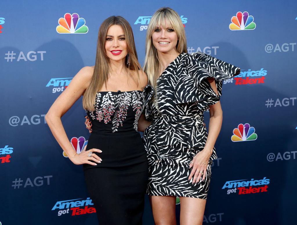 "Sofia Vergara and Heidi Klum attend the ""America's Got Talent"" Season 15"