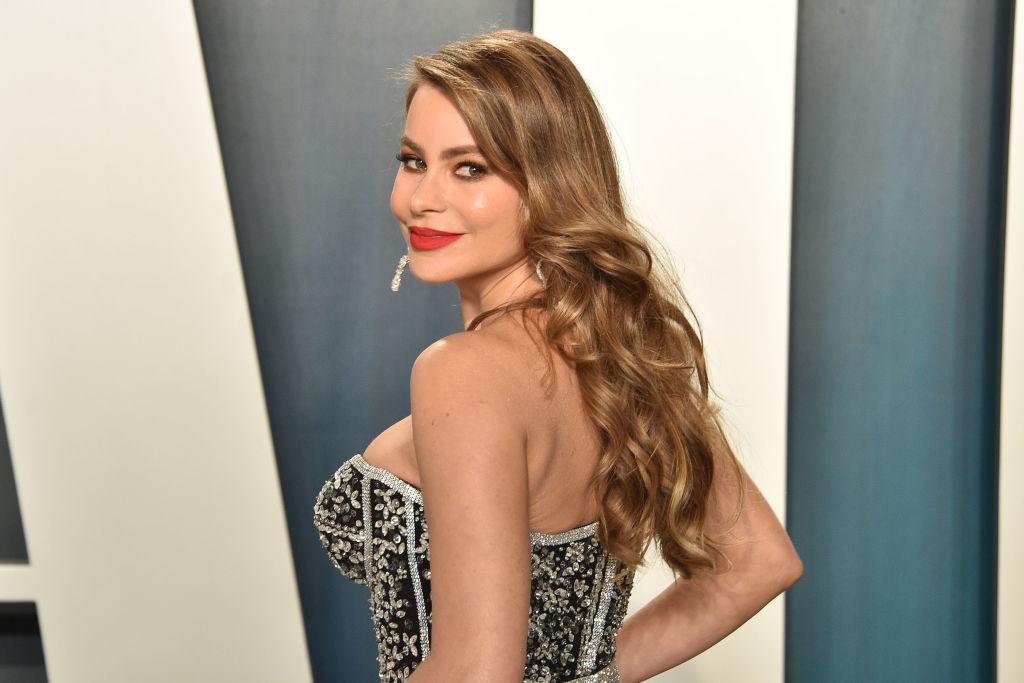 Sofía Vergara attends the 2020 Vanity Fair Oscar Party