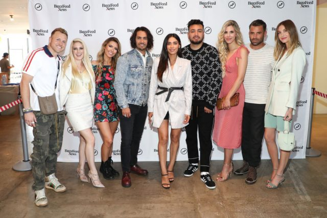 Spencer Pratt, Heidi Pratt, Audrina Patridge, Justin Bobby Brescia, Jen Delgado, Frankie Delgado, Ashley Wahler, Jason Wahler, and Whitney Port