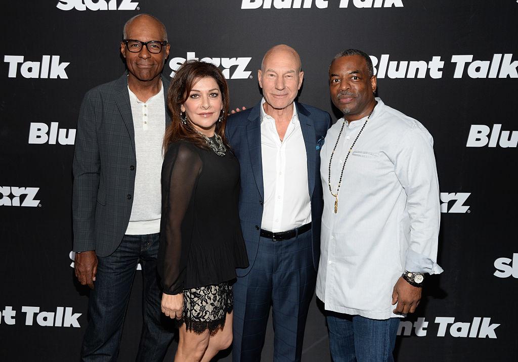 'Star Trek: The Next Generation' Cast Reunites on Zoom for a Birthday Celebration