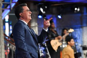 Stephen Colbert Shares Self-Isolation Tips From His Bathtub During Coronavirus 'Late Show'