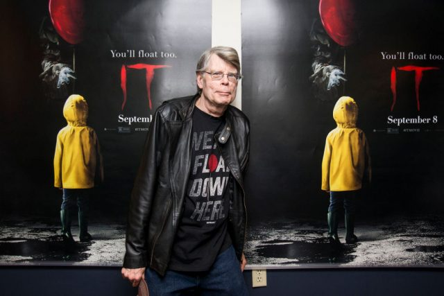 Stephen King at a special screening of 'IT'