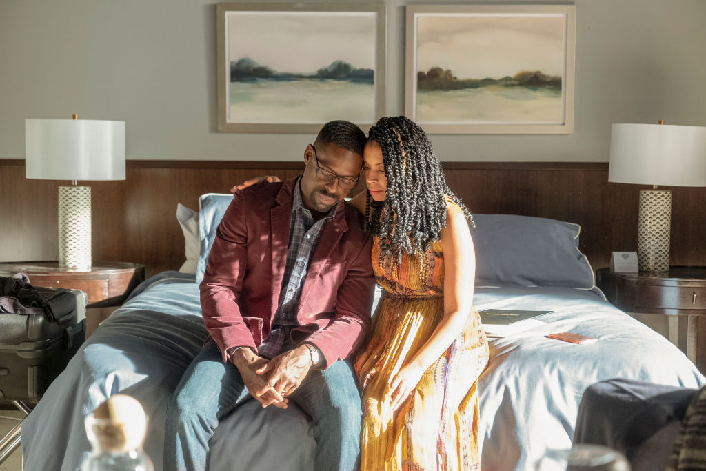 Sterling K. Brown as Randall and Susan Kelechi Watson as Beth on 'This Is Us' Season 4