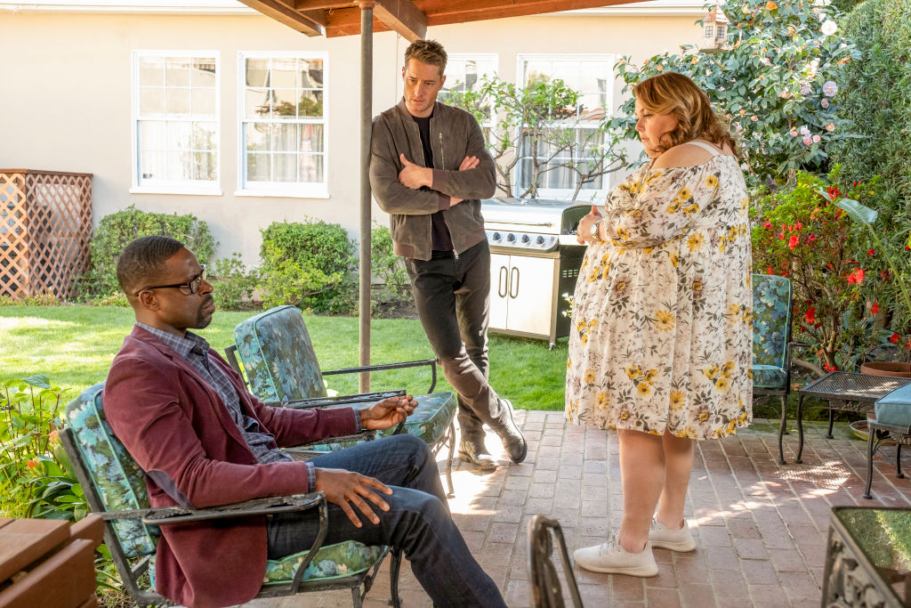 Sterling K. Brown, Justin Hartley, and Chrissy Metz This Is Us Season 5