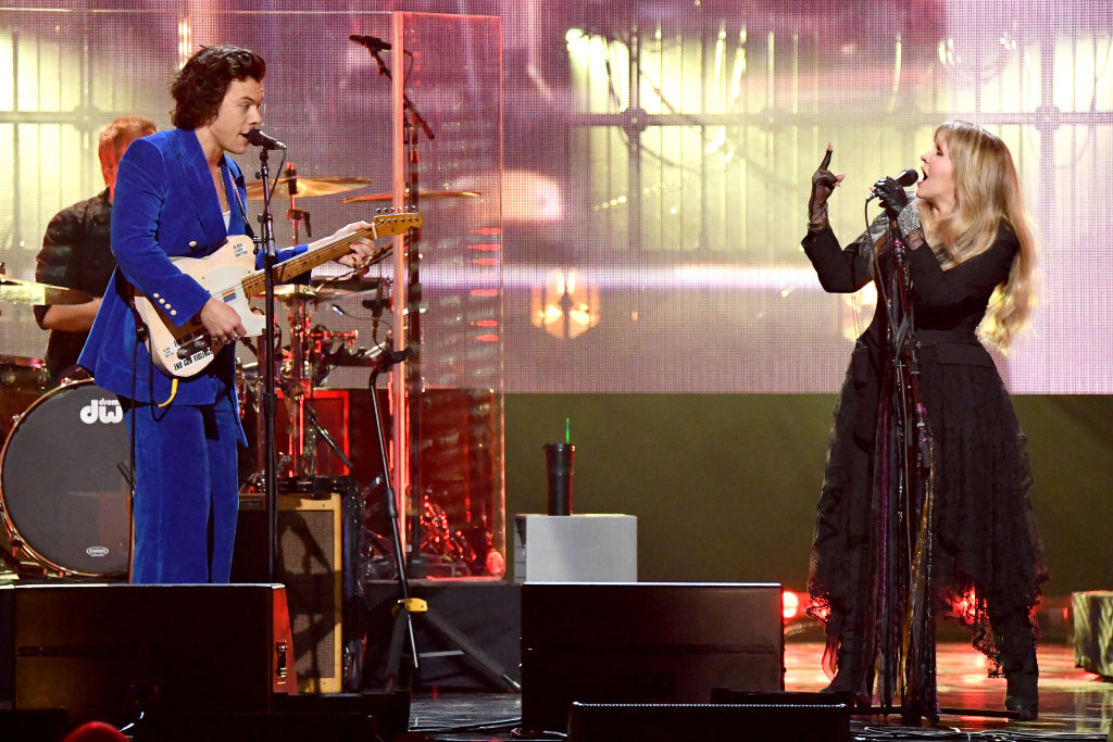 Stevie Nicks and Harry Styles