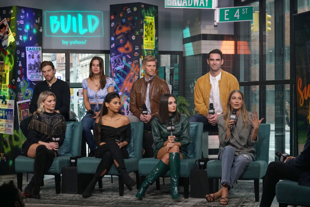 "The cast of ""Summer House"" attends Build Series"