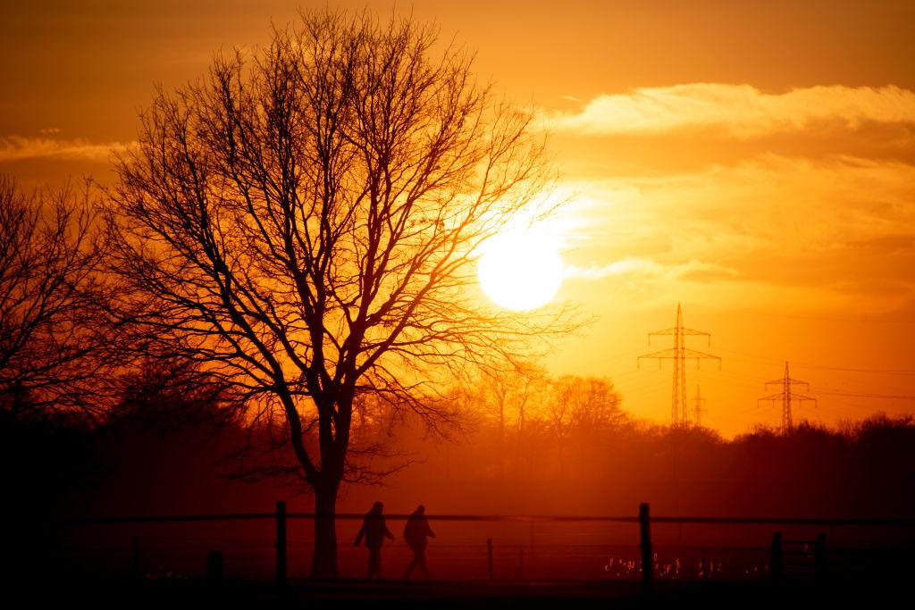 Sunset in Wardenburg