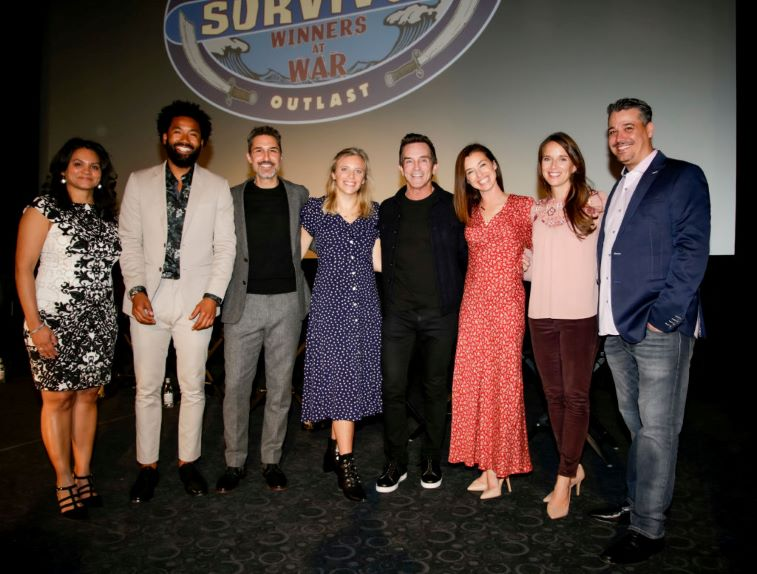 Survivor 40 Winners at War Old-School Cast