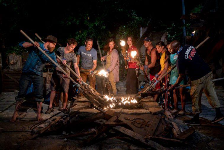 Survivor 40 Tribal Council