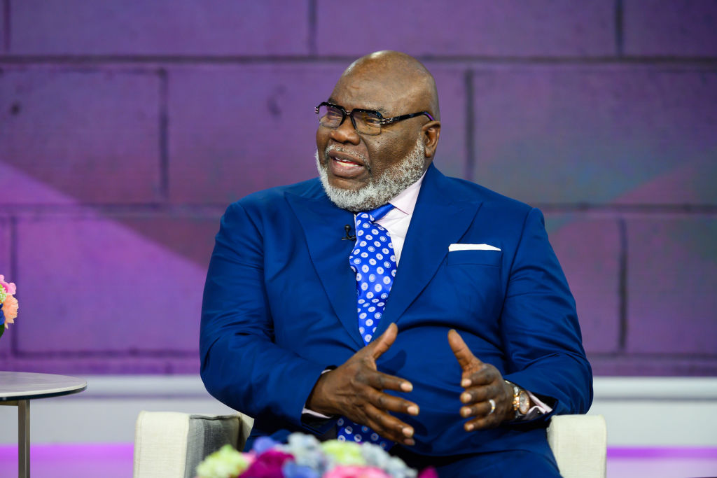 TD Jakes   Nathan Congleton/NBCU Photo Bank/NBCUniversal via Getty Images
