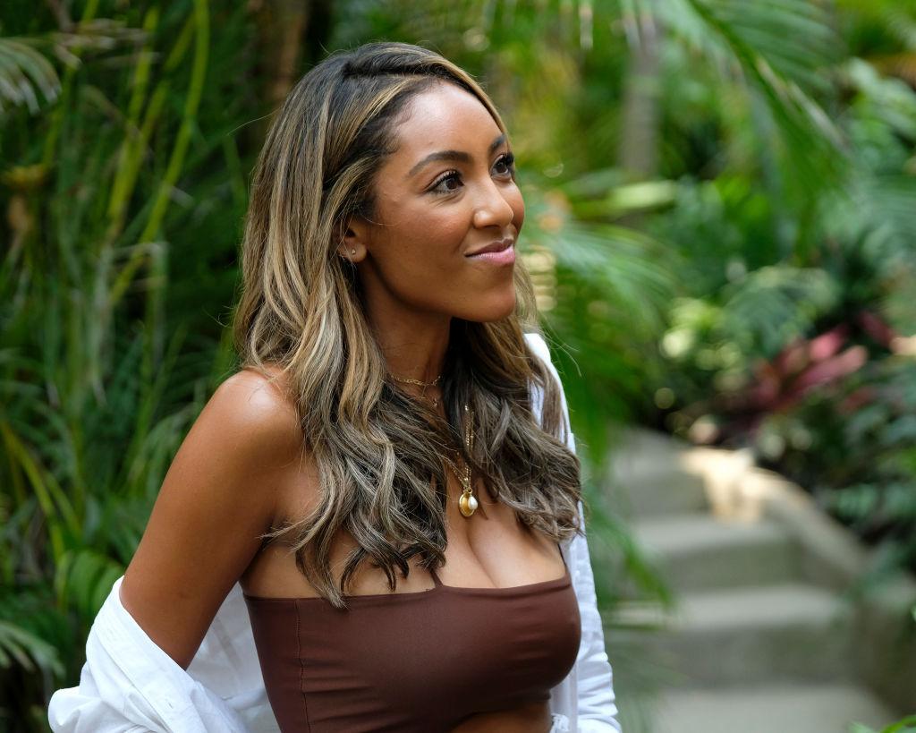 Tayshia Adams on Bachelor in Paradise