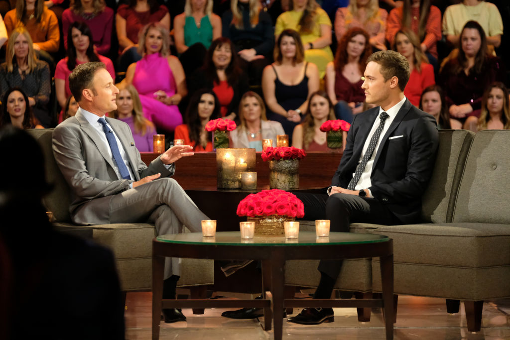 Peter Weber and Chris Harrison on 'The Bachelor'