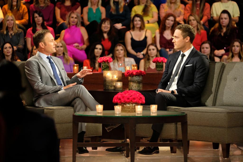 Peter Weber and Chris Harrison on 'The Bachelor'
