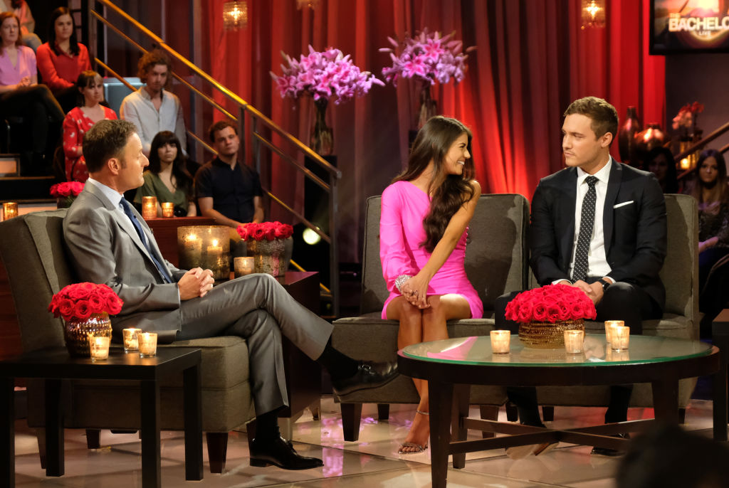 Chris Harrison, Peter Weber, and Madison Prewett on 'The Bachelor'