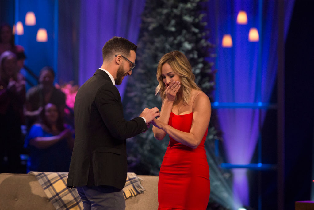 Clare Crawley and Benoît Beauséjour-Savard on 'Bachelor Winter Games'