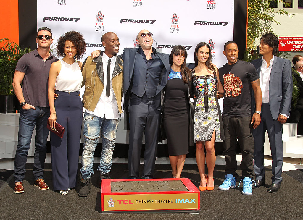 'The Fast and the Furious' cast