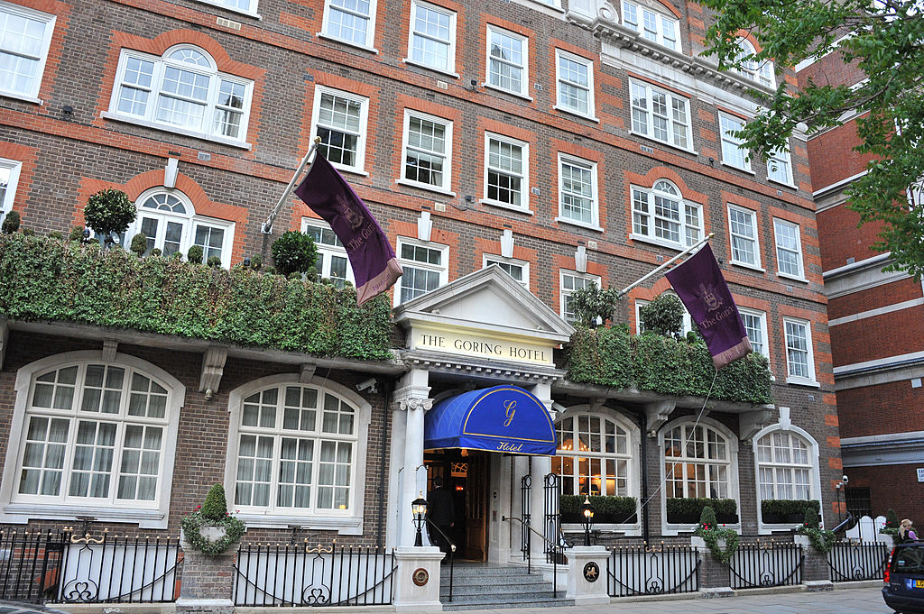 The Goring Hotel before Kate Middleton and Prince William were married