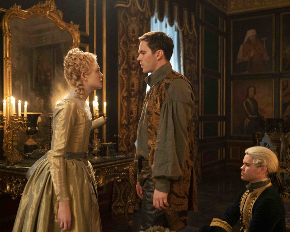 The Great: Elle Fanning and Nicholas Hoult