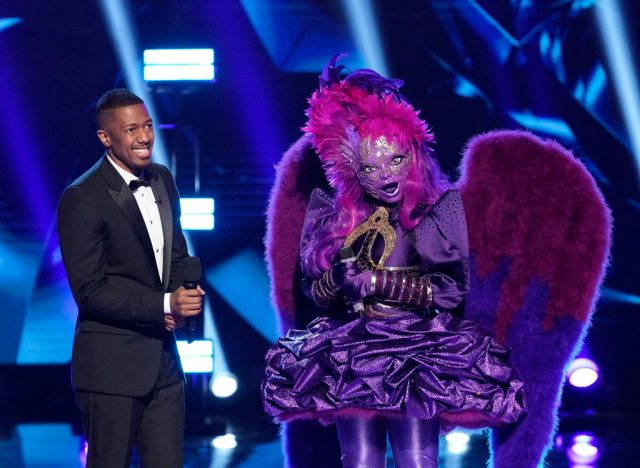 The Masked Singer's Night Angel with Nick Cannon