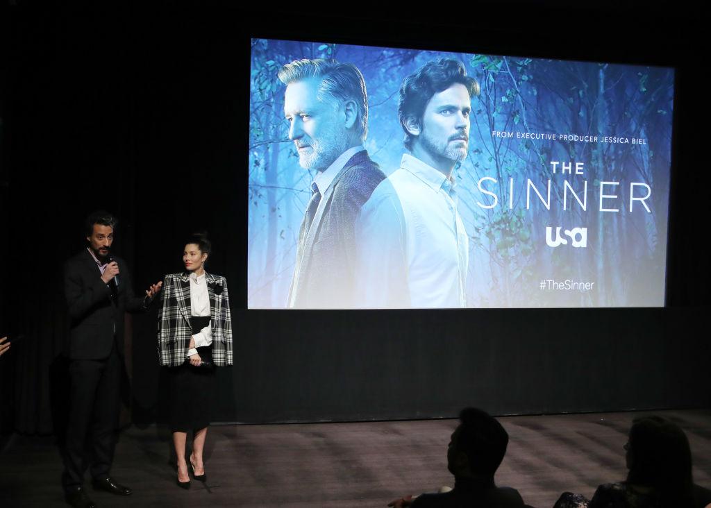 The Sinner Derek Simonds and Jessica Biel