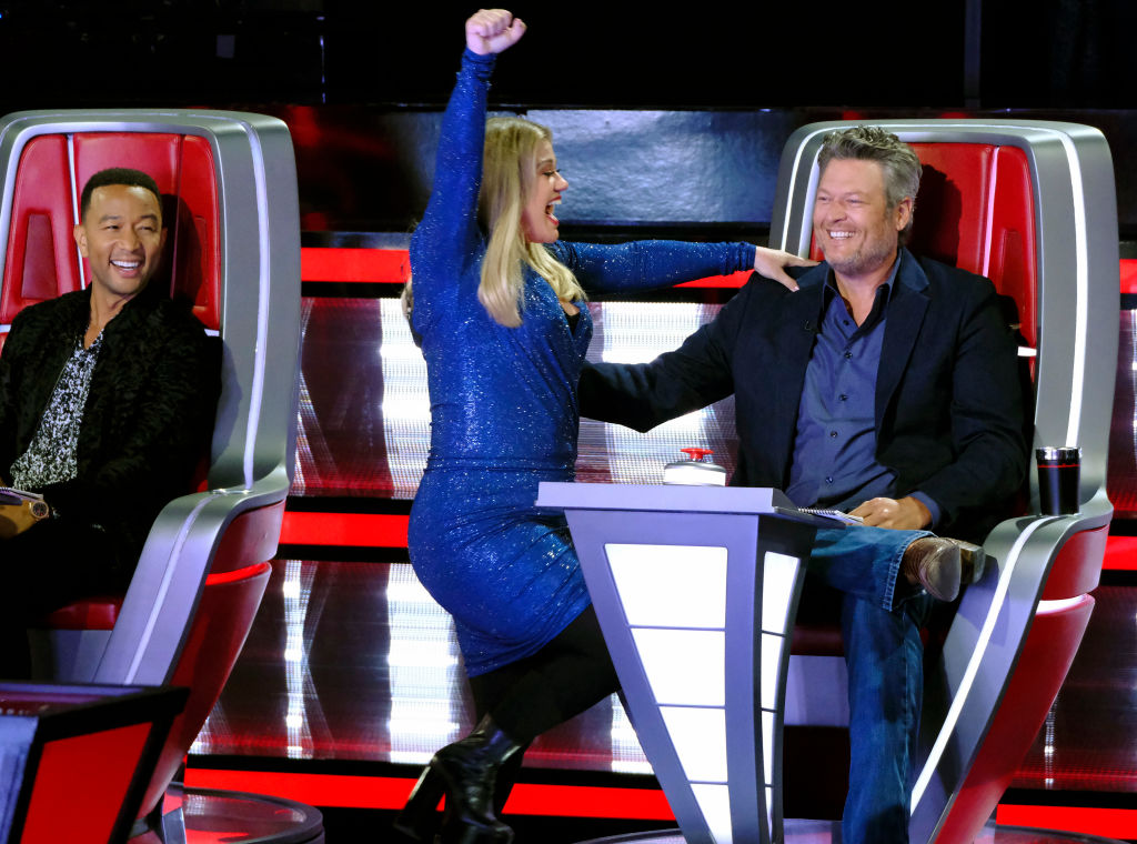 John Legend, Kelly Clarkson, Blake Shelton on 'The Voice'