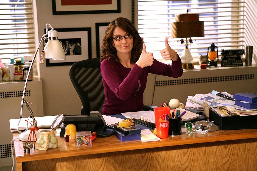 Tina Fey on 30 Rock