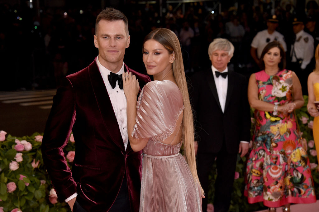 Tom Brady and Gisele Bundchen at the Met Gala in 2019   John Shearer/Getty Images for THR