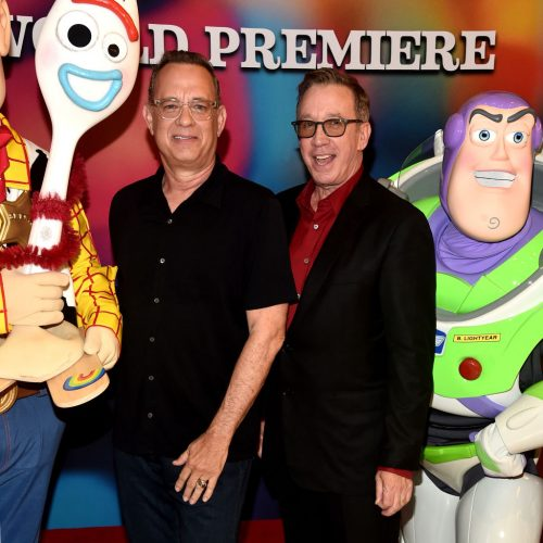 Tom Hanks Taught Tim Allen the Right Way to Do Their 'Toy Story' Voices For Real Kids