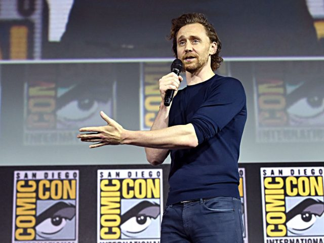 Tom Hiddleston at the San Diego Comic-Con International