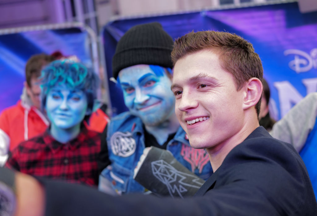 """Tom Holland attends the UK Premiere Of Disney And Pixar's """"Onward"""""""