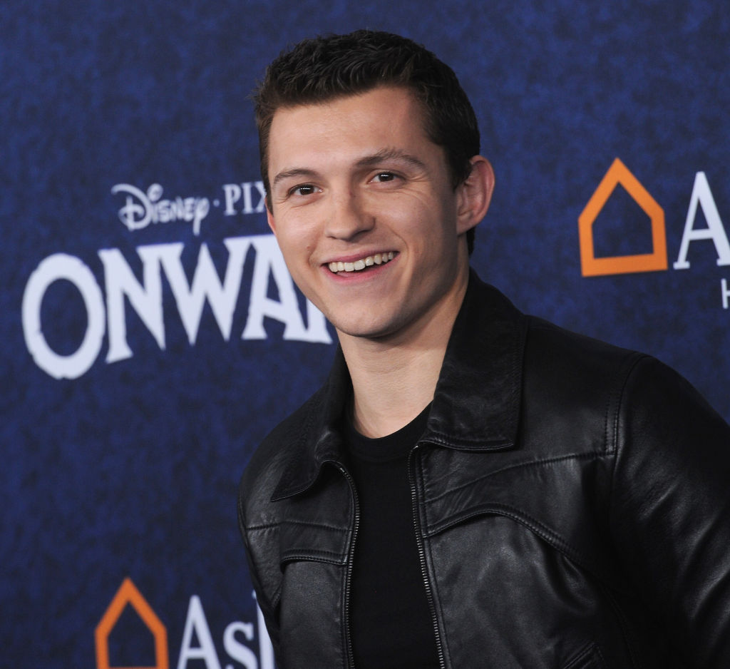 Tom Holland at the Onward premiere