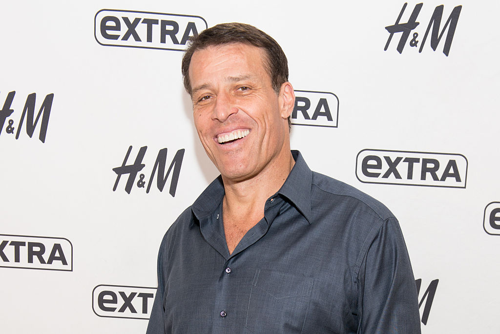 Tony Robbins |  Noam Galai/Getty Images for Extra