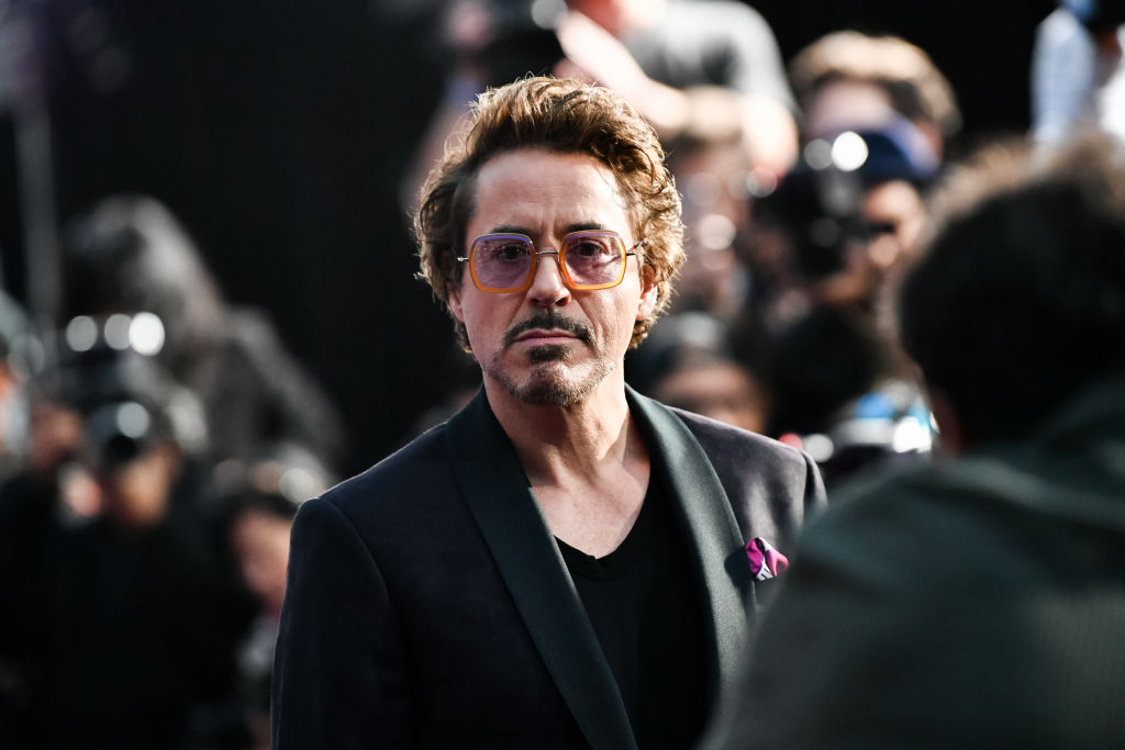 """Robert Downey Jr. attends the premiere of Disney and Marvel's """"Avengers: Infinity War"""""""