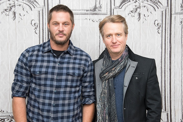 Travis Fimmel and Linus Roache