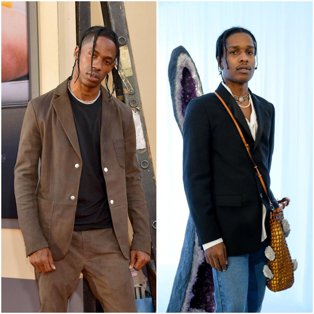 Travis Scott and ASAP Rocky