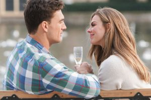 'The Bachelorette': Tyler Cameron and Hannah Brown Troll Fans With a Game of Spin the Bottle