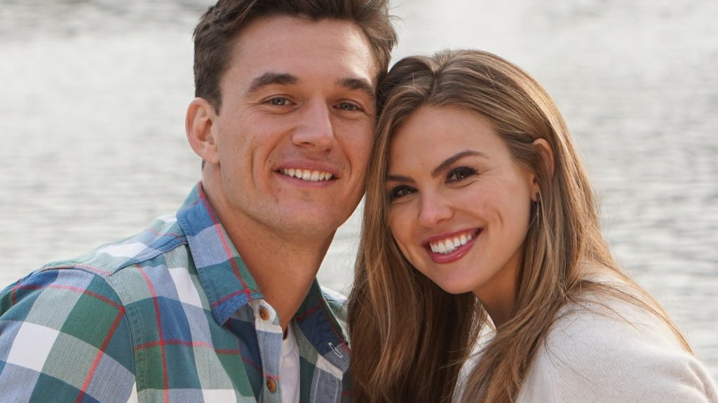 Tyler Cameron and Hannah Brown on 'The Bachelorette' Season 15