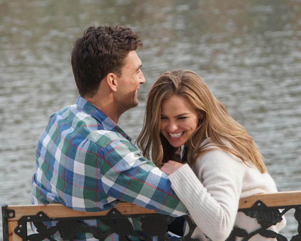 Tyler Cameron and Hannah Brown | Mark Bourdillon/ABC via Getty Images
